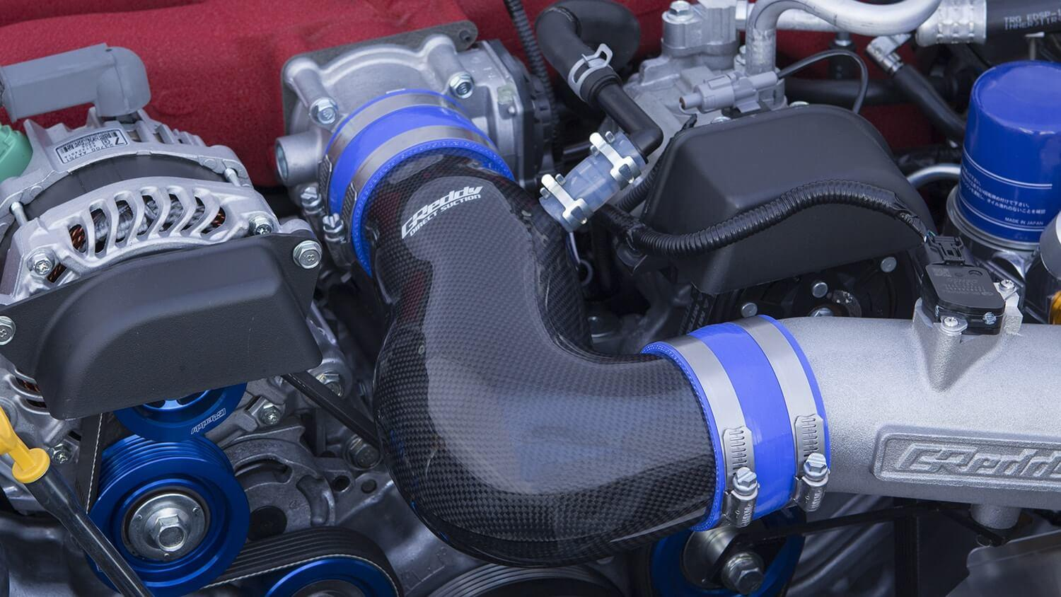 Used with GReddy Airinx Kit TY-M41B on a ZN6 Model Change